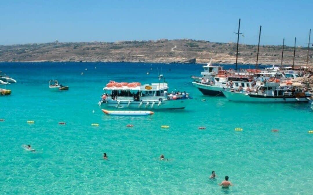 Golden Bay Malte. Plage de rêve. Retour sur notre visite